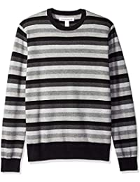 Men's Standard Crewneck Stripe Sweater