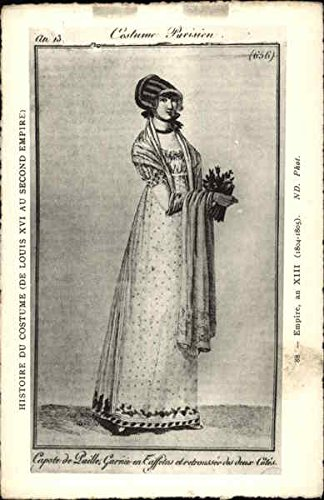 Parisian Costume - King Louis the 16th Women Original Vintage (Louis The 16th Costume)
