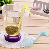 niceeshop(TM) Multi-functional Music/Phonetic Symbol Tea Leaves/Teaspoon Strainer Filter/Infuser Filter
