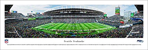 Seattle Seahawks - Unframed 40 x 13.5 Poster by Blakeway Panoramas