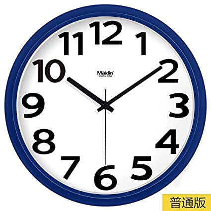 BYLE Silencio de Moda creativa reloj minimalista moderno arte digital dibujo reloj de cuarzo Decoracion Reloj