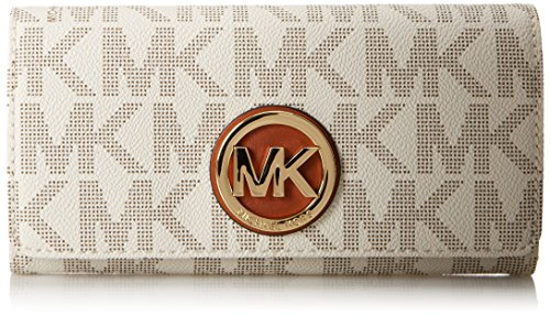 Image of Michael Kors Fulton Carryall Women's  Leather Wallet