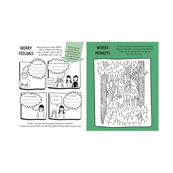 No Worries! Mindful Kids: An activity book for children who sometimes feel anxious or stressed Paperback – 27 Jul 2017