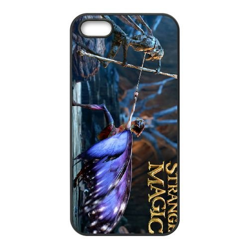 Strange Magic 3 coque iPhone 4 4s cellulaire cas coque de téléphone cas téléphone cellulaire noir couvercle EEECBCAAN02205