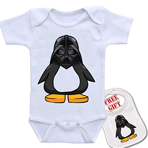 Penguin Novelty bodysuit onesie matching