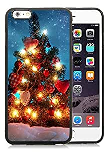 Popular Design iPhone 6 Plus Case,Merry Christmas Black iPhone 6 Plus 5.5 TPU Case 71