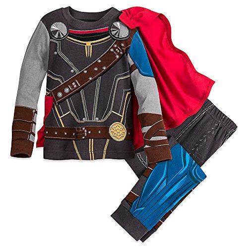 Marvel Thor Costume PJ PALS Pajamas for Boys - Thor: Ragnarok Size 2