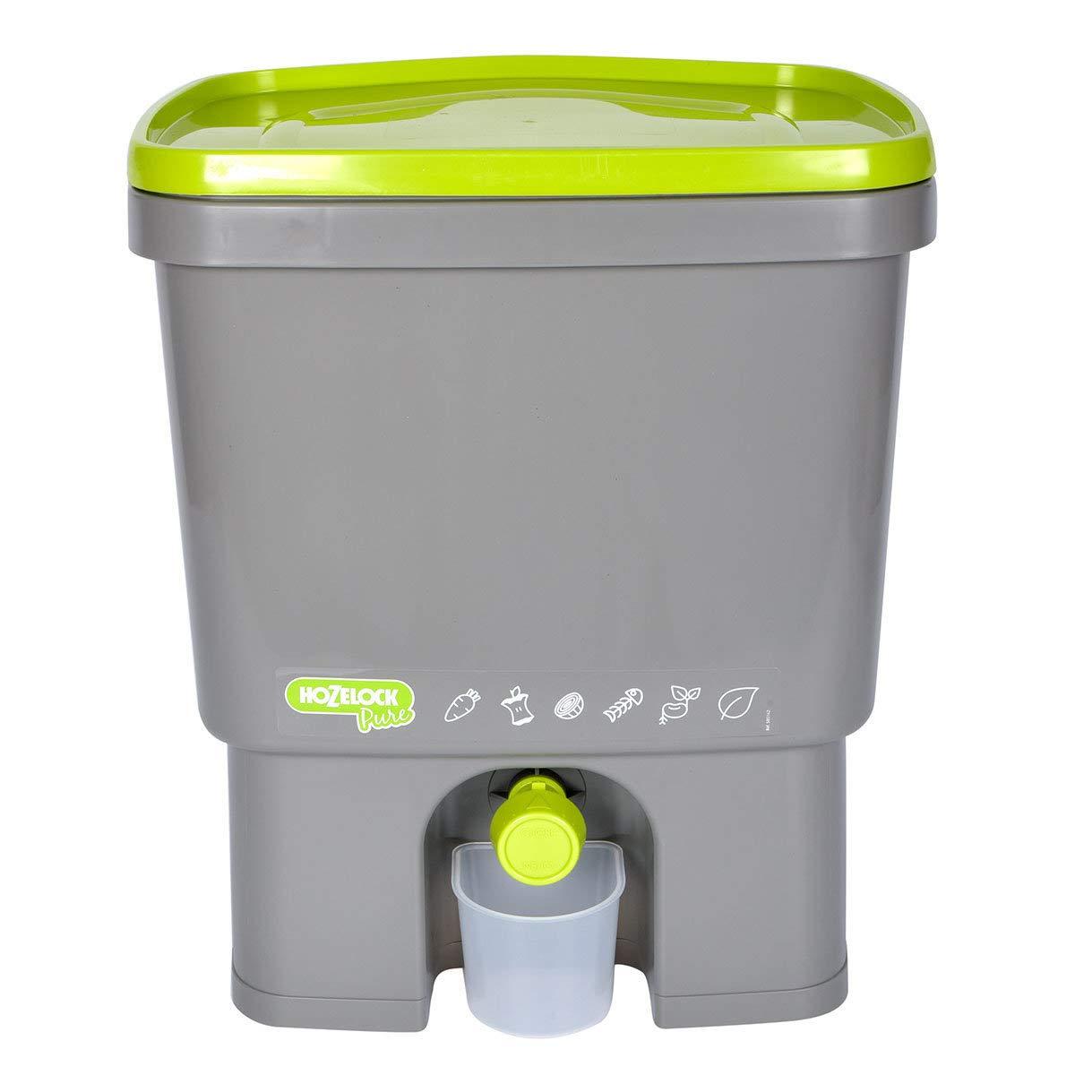 Hozelock Bokashi Composteur de Cuisine Gris//Vert