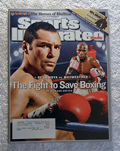 Oscar De La Hoya vs Floyd Mayweather Jr - Boxing - Sports Illustrated - May 7, 2007 - SI
