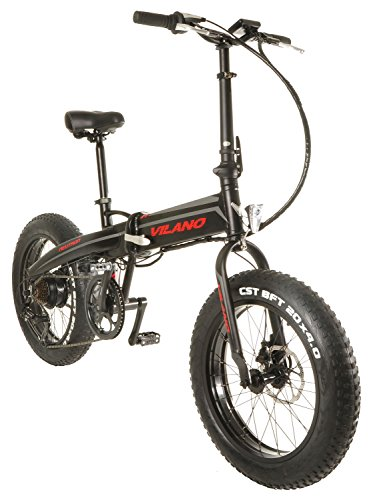 Best Price Vilano NEUTRON Electric Folding Fat Bike, 20-Inch Wheels