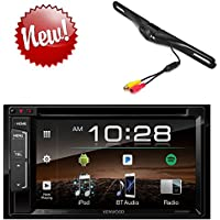 Kenwood DDX350BT 6.2 DVD Receiver with Built in Bluetooth, License Plate Rear Backup Camera