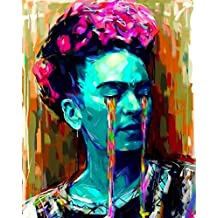 Frida Kahlo TEARS ART POSTER 24x36