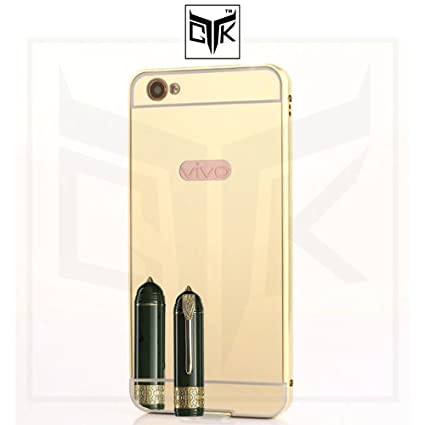 check out bf48e 7c444 TheGiftKart Mirror Back Cover with Metal Bumper Back: Amazon.in ...