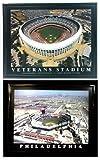 Framed Philadelphia Phillies - Veterans Stadium and Citizens Ball Park Prints (Set of 2)