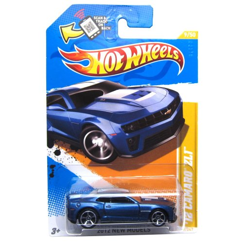 Hot Wheels 2012 New Models Chevrolet Chevy Camaro ZL1 Blue