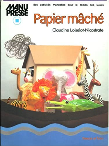Image result for Paper mache book claudine