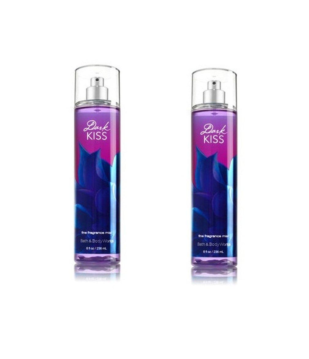 Bath & Body Works Dark Kiss Fine Fragrance Mist Pack of 2