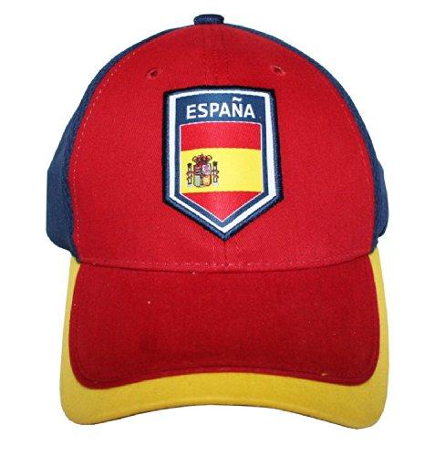 Football Mesh Cap (World Cup Soccer Spain Mesh Cap)