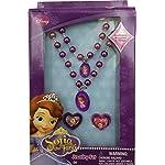 Joy-Toy-Disney-Sofia-115038-Set-Gioielli-Collanina-Braccialetto-e-2-Anelli-12X4X18-cm
