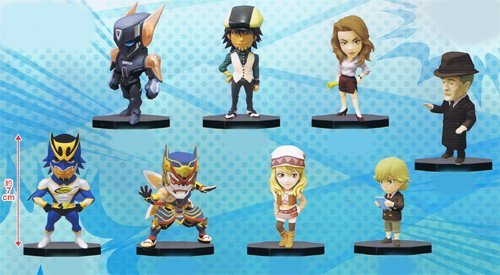 TIGER & BUNNY World Collectible Figure Vol.2 8 Figures Set by Banpresto
