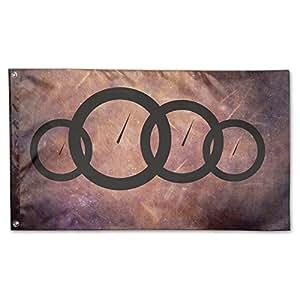Deporte casa velocidad Audi bandera Sing capa Retangular bandera 3'x5'