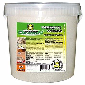 Dragon Termite Sand White 10l Clay Terrarium Ideal For Desert