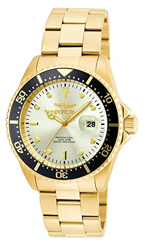 Invicta Men's 'Pro Diver' Quartz Stainless Steel Casual Watch (Model: ()