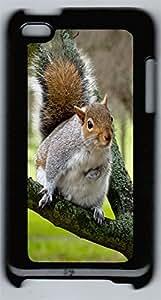 ipod 4 CaseSquirrel PC Custom ipod 4 Case Cover Black