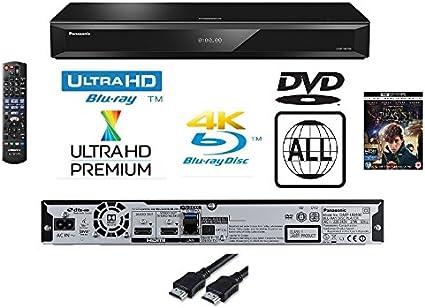 Panasonic 4 K Ultra HD reproductor de Blu-Ray con MULTIREGION reproducción de DVD modelo dmp-ub400/dmpub400 – misma familia como dmp-ub700/dmp-ub900 – incluye un 4 K Ultra Película – negro: Amazon.es: Electrónica