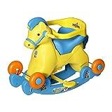 Archana Supreme 2 In 1 Green Horsey Rocker Cum Ride On Toy For Kids