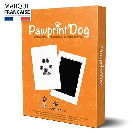 Badogshop - Kit de Huella de Perro, Sello de Tinta para Perro y ...