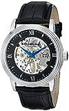 Stuhrling Original Men's 516.33151 Classic Delphi Vienna Analog Display Mechanical Hand Wind Black Watch