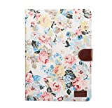 Pro 10.5 iPad Case, Skin cover PU Leather Lightweight Slim Shell Shockproof Waterproof Tablet PC Case With Stand Function Shell for iPad Pro 10.5 - White