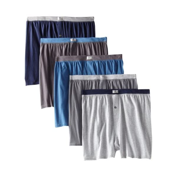 Fruit of the Loom Men's Soft Stretch-Knit Boxer Multipack