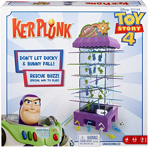 Disney Pixar Toy Story 4 Kerplunk Game from Mattel Games
