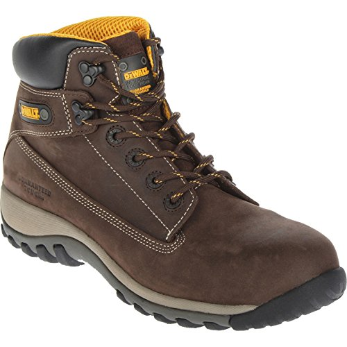 DeWalt Hammer Nubuck Safety Work Boots Brown Size 9