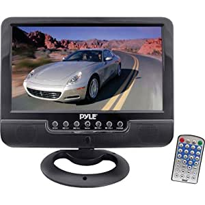 Pyle PLMN9SU 9-Inch Battery Powered TFT/LCD Monitor with MP3/MP4/USB/SD/MMC Card Player