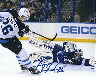 Signed Blake Wheeler 8x10 Photo Winnipeg Jets - Certified Autograph
