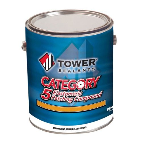 tower-sealants-ts-00082-gallon-category-5-elastomeric-patching-compound-smooth-brush-grade