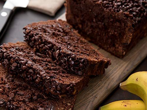 Vegan Chocolate Banana Bread (for breakfast or dessert)
