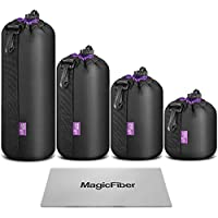 (4 Pack) Altura Photo Thick Protective Neoprene Pouch Set...