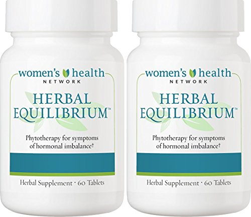 Herbal Equilibrium by Women's Health Network - Natural Menopause Support Supplement for Hormonal Balance and Hot Flash Relief (2 Bottles)