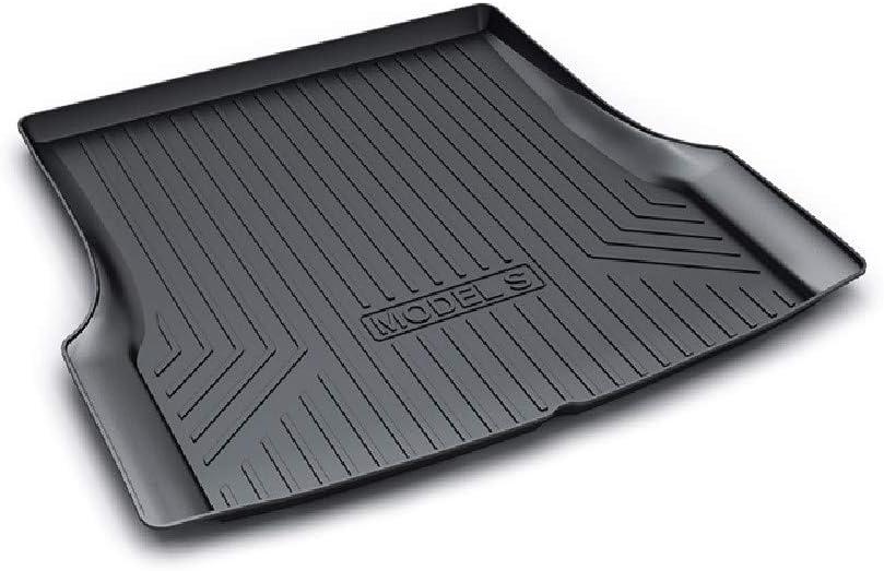 Offrant Une Protection Contre Les Intemp/éRies,ModelX HZGrille Tapis de Coffre//Arri/èRe Cargo Tapis pour la Modification du Coffre du Tesla Model 3 Model X//S