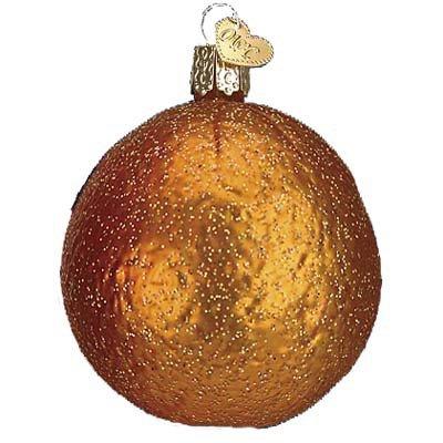 Fruit Christmas Ornament - Orange Old World Christmas Ornament