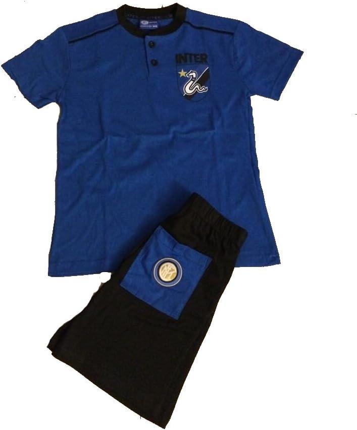 F.C Internazionale Pyjama Official Inter Men Short Adult in14066roy