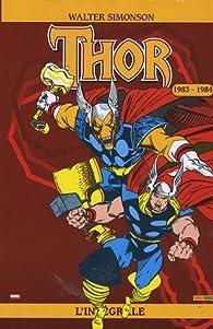 Thor : L'intégrale 1983 - 1984  par Walter Simonson