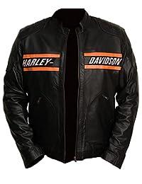 Perfect Colors Harley Davidson Motorcycle Goldberg Leather Biker Real Jacket