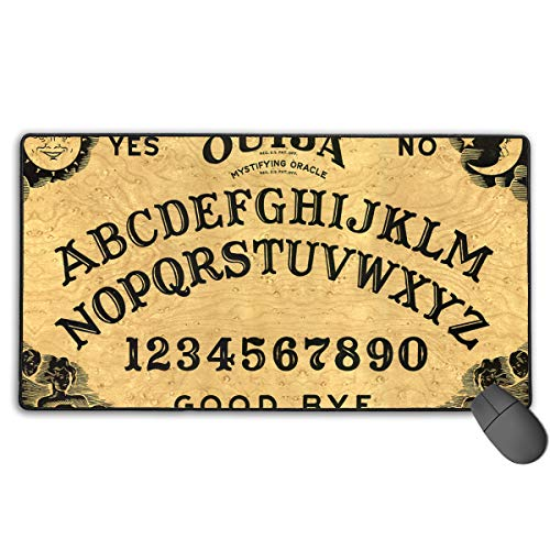 Ouija Board Large Gaming Mouse Pad Extended Mat Non-Slip Rubber Desk Pad Computer Keyboard Mat