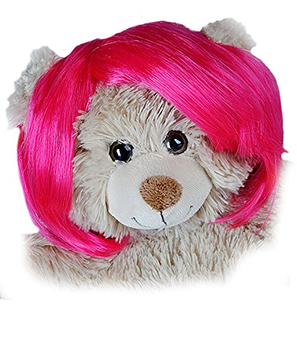 (Short Bob Pink Wig Fits Most 14
