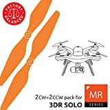 3dr Solo Propellers Upgrade Set Orange - x4 propellers